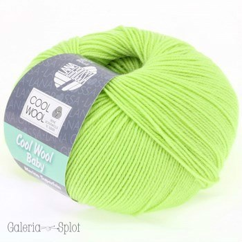 Cool Wool Baby -228 limonka