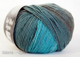 Cool Wool Degrade -6006 turkus, zieleń