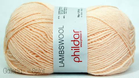 LAMBSWOOL - pudrowy 125