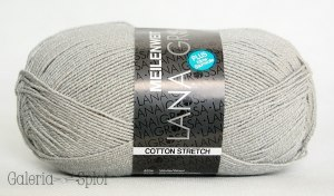 Meilenweit -Cotton Stretch - 8024 szary