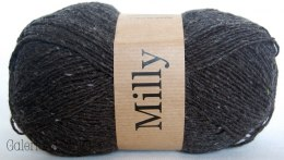 Milly - 236 czarny, tweed, melanż